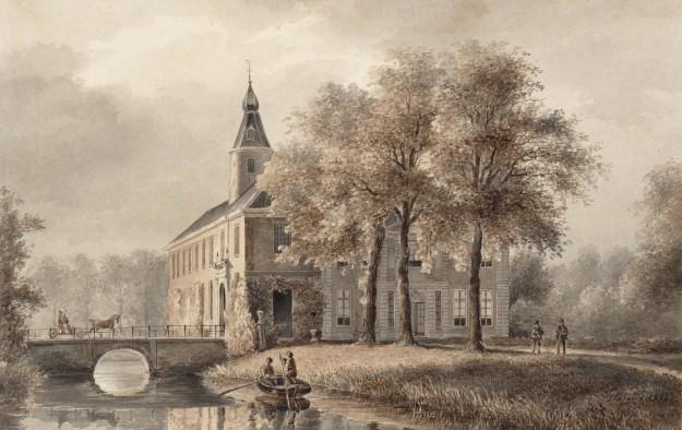 Huis Marquette. P.J. Lutgers, 1842.